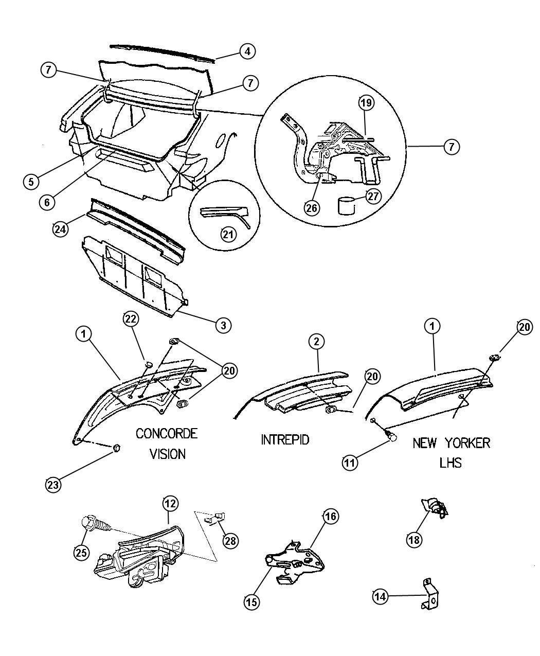 service manual  1994 eagle vision manual wiring sch