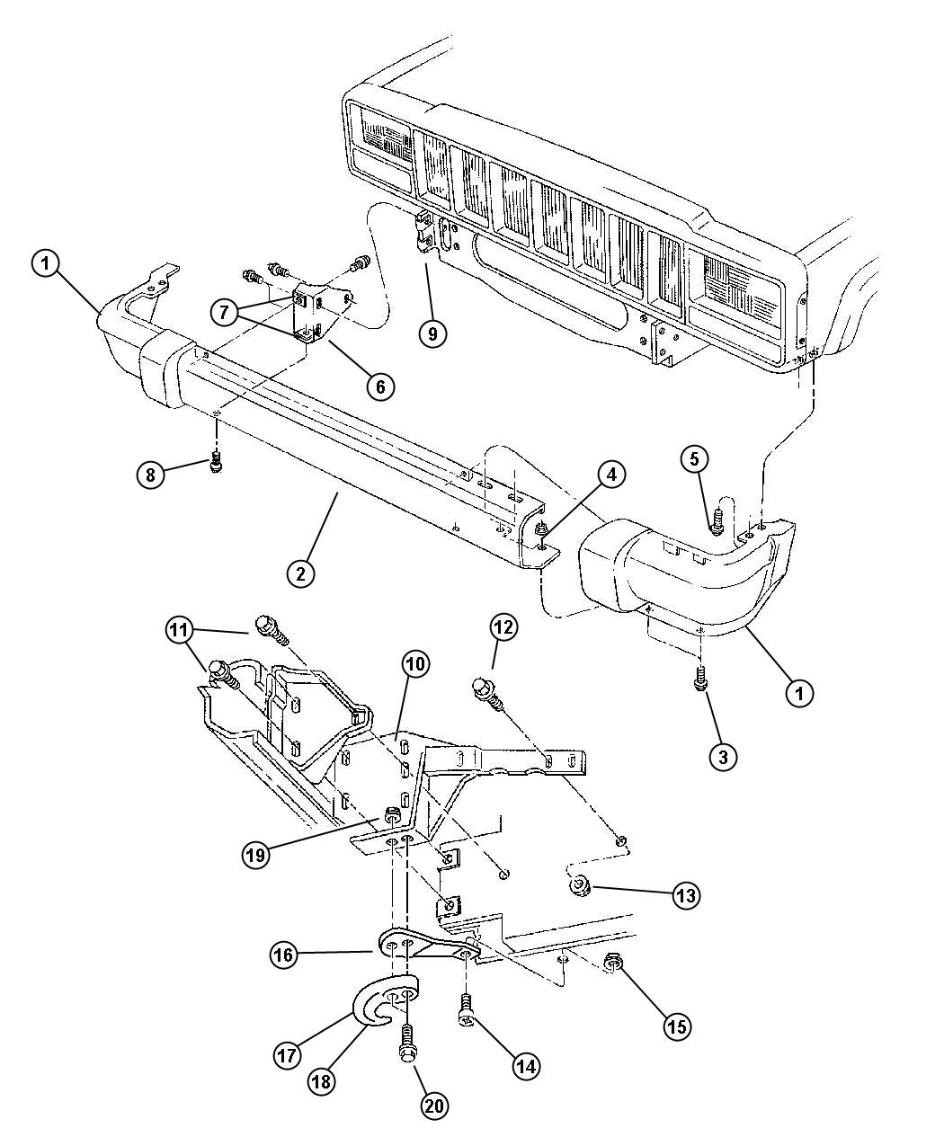 jeep cherokee sport wiring diagram for 00