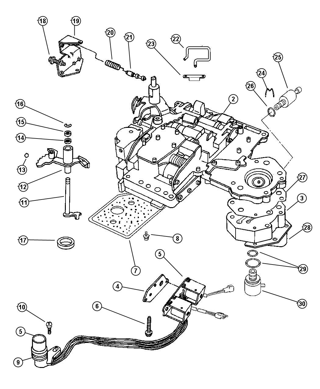 Dodge Transmission Wiring Harness Diagrams 2008 Durango Diagram Ram 46re 47rh Avenger 1500