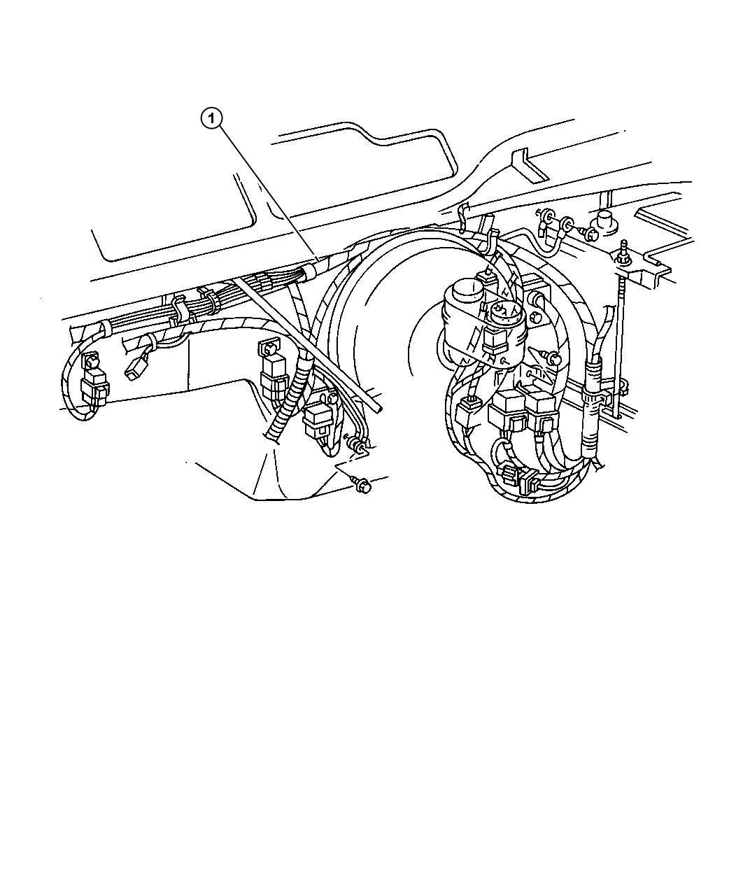 1997 Dodge Ram 1500 Cartridge  Fuseable Link  120 Amp