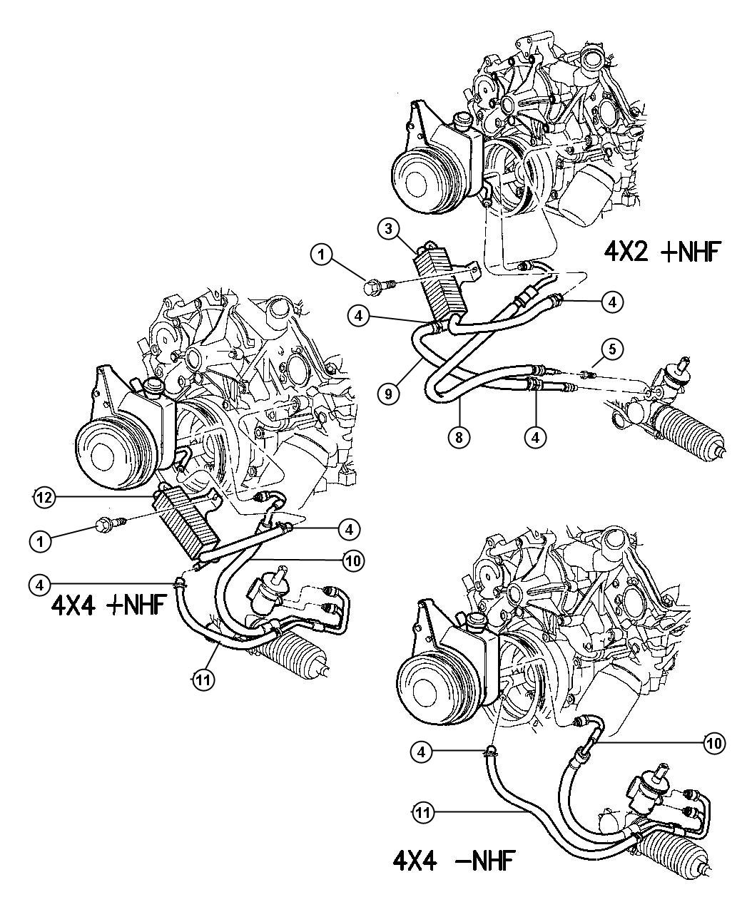dodge 2 7 liter engine diagram