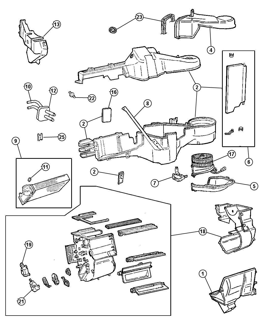 2000 Dodge Grand Caravan Actuator  Recirculation Door  Hca  Conditioningepic  Cntiuconnect
