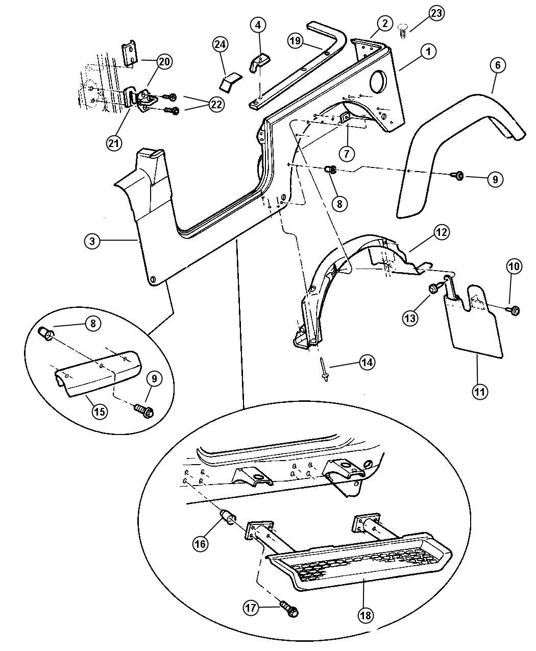 Jeep Cherokee Body Parts Replacement likewise 2003 Jeep Liberty Parts Diagram in addition Jeep Yj Replacement Parts further Jeep Wrangler Yj Body Parts besides 1995 Jeep Wrangler Body Parts. on jeep wrangler yj replacement parts quadratec html
