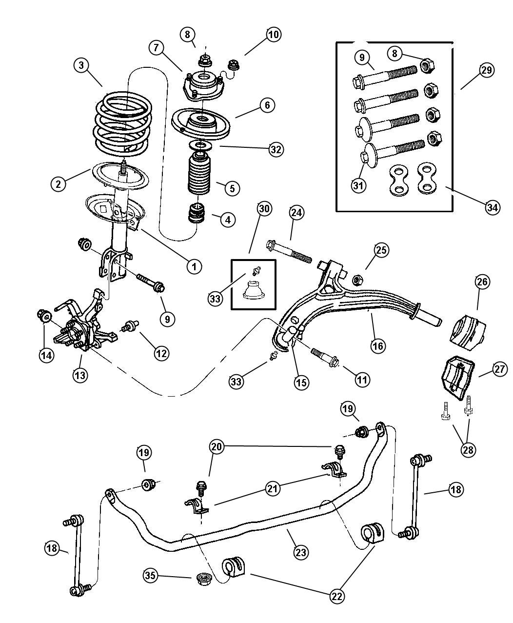 2000 Chrysler Voyager Fuse Box Diagram