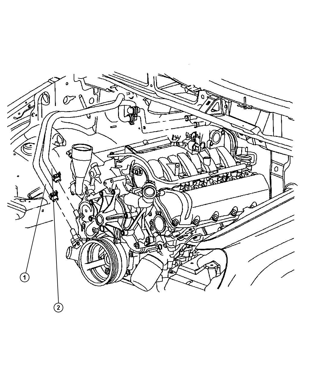 ford excursion heater core diagram
