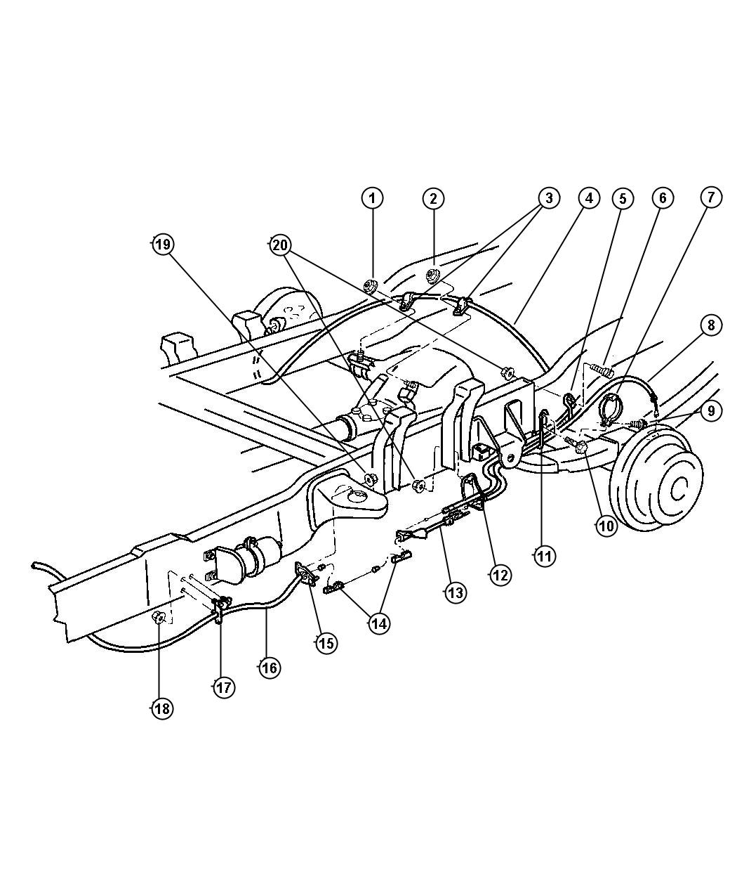 1998 dodge ram rear brake parts diagram  dodge  auto