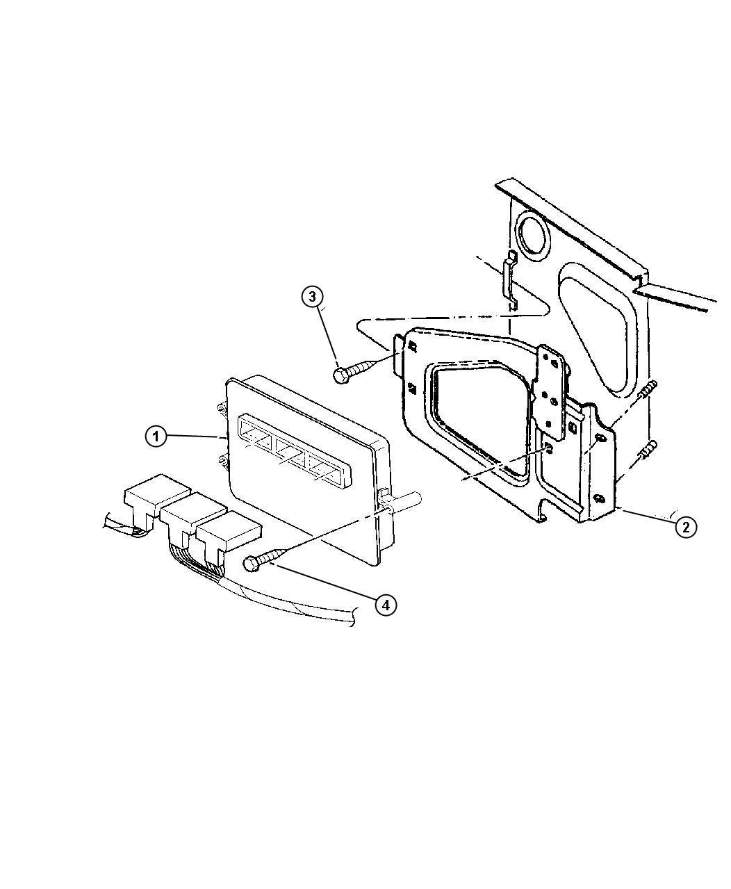 2000 dodge durango module powertrain control. Black Bedroom Furniture Sets. Home Design Ideas