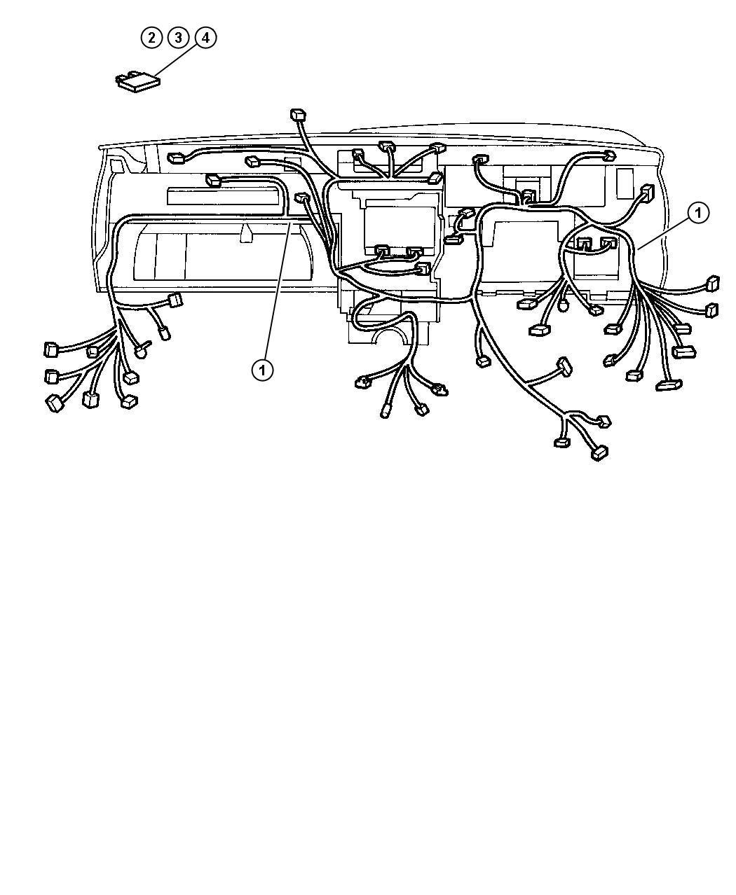 jeep wrangler wiring kit  jumper  also comes w  starter  wstarter