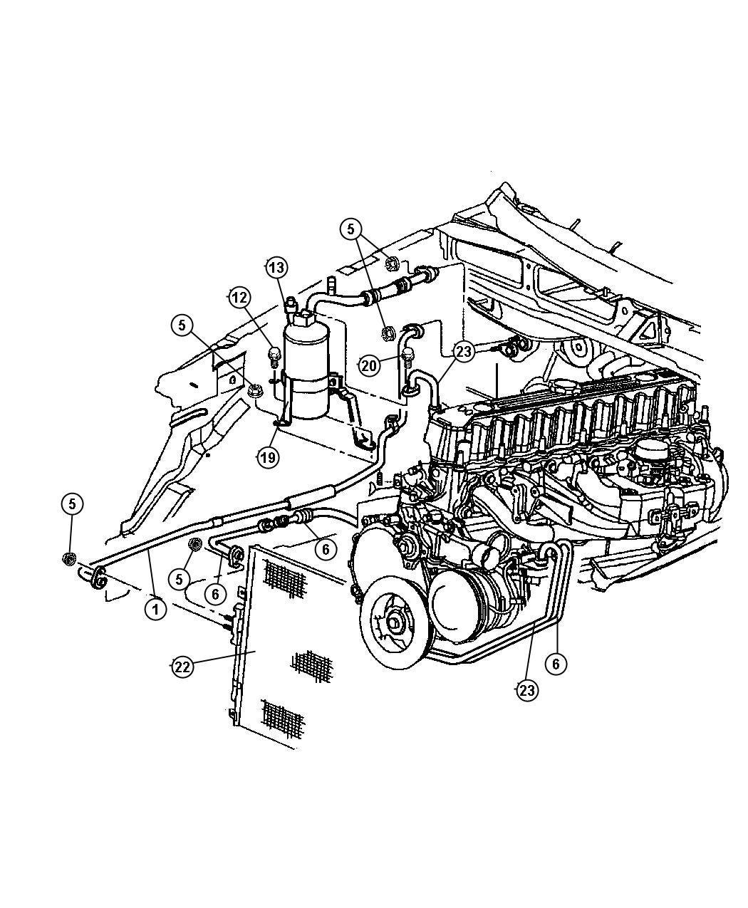 pontiac vibe air conditioning diagram