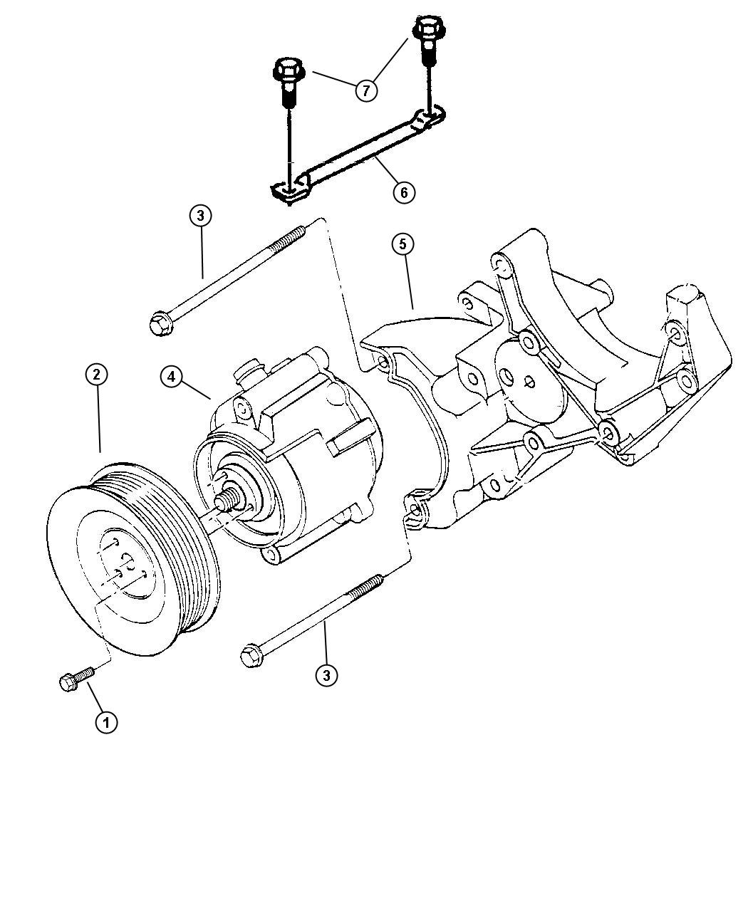 Diagram Air Pump. for your Dodge
