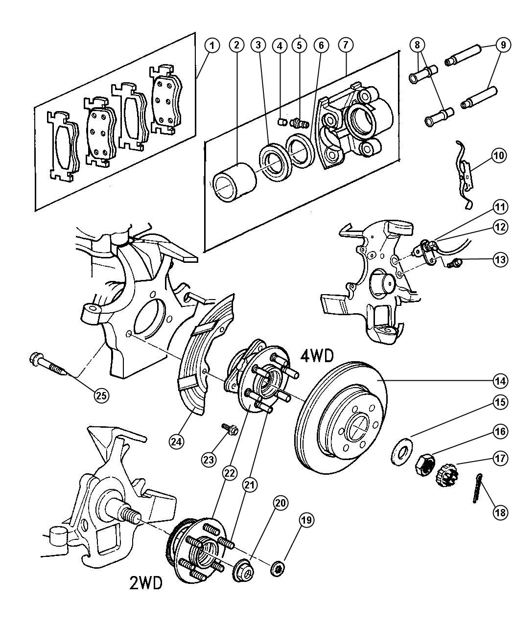 2001 dodge ram 1500 front axle diagram dodge 4x4 front