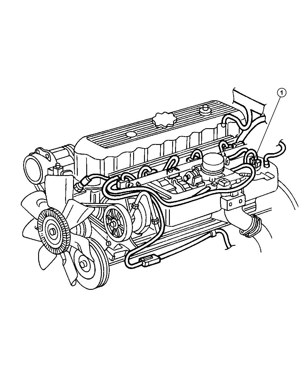 Jeep Liberty Strap  Engine  Ground