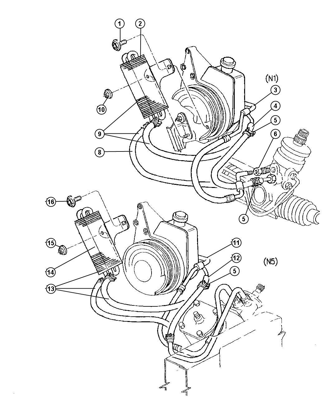 2000 Dodge Dakota Power Steering Diagram on 2002 Dodge Intrepid