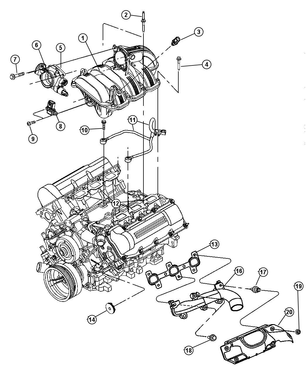 search dodge dakota engine diagram  search  get free image
