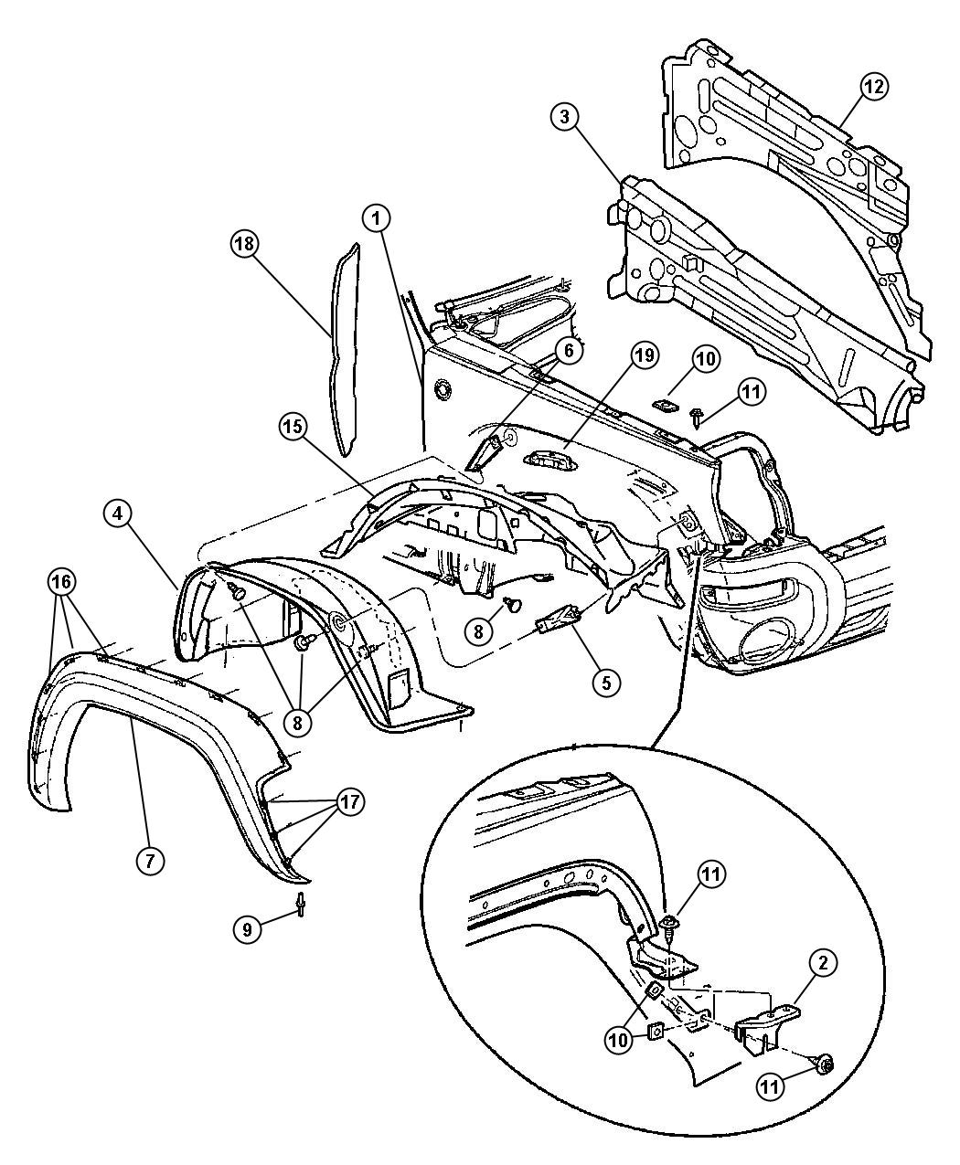 2004 jeep grand cherokee parts diagram  jeep  auto wiring