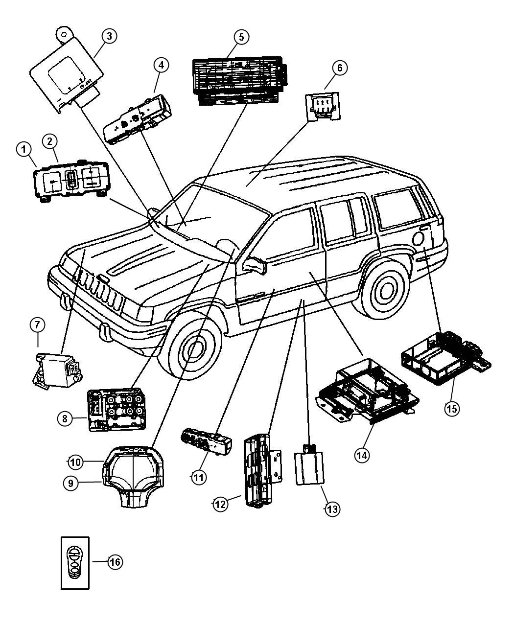 2006 jeep liberty abs wiring diagram 2006 discover your wiring jeep grand cherokee body control module location