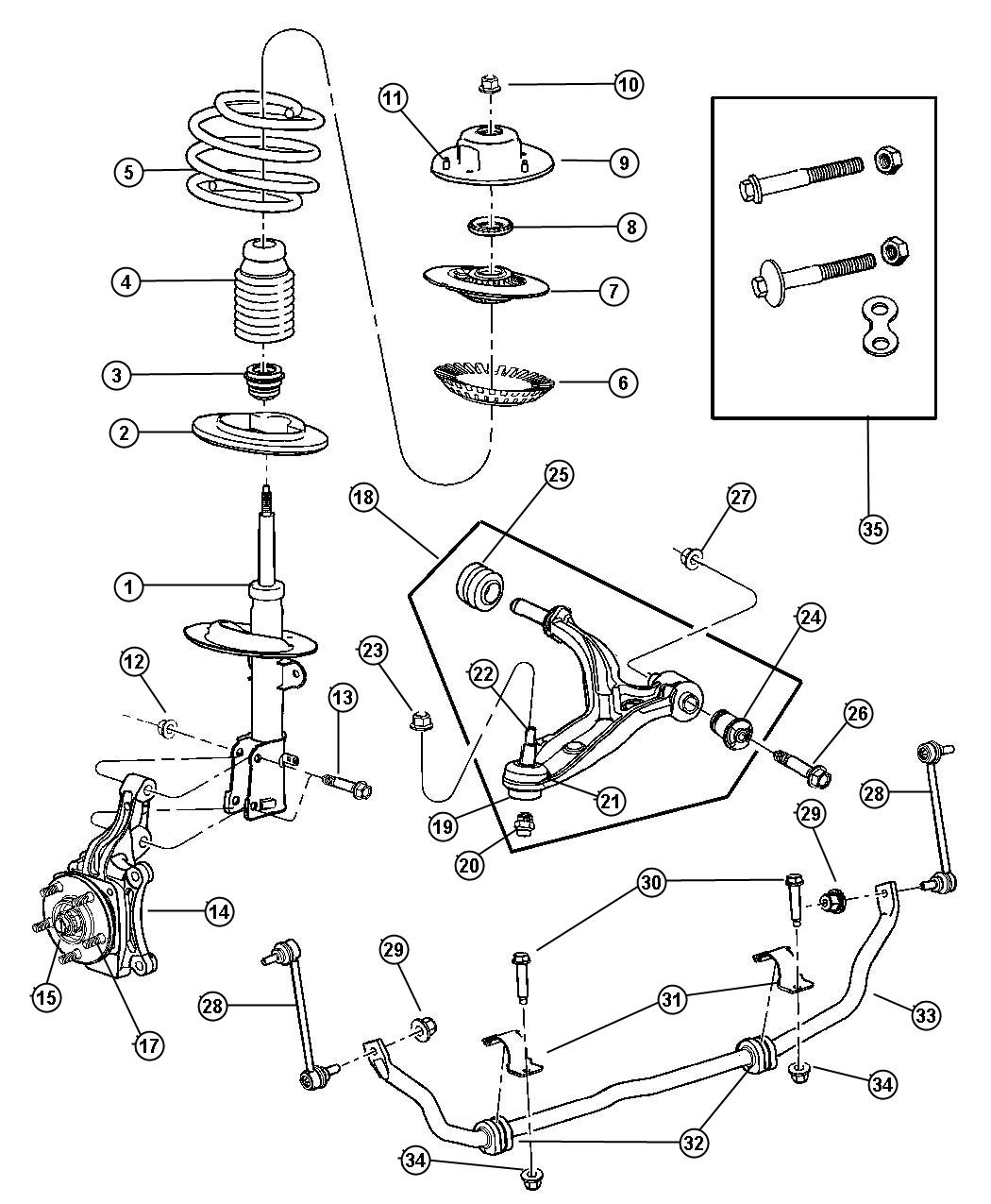 suspension front for 2002 dodge grand caravan. Cars Review. Best American Auto & Cars Review