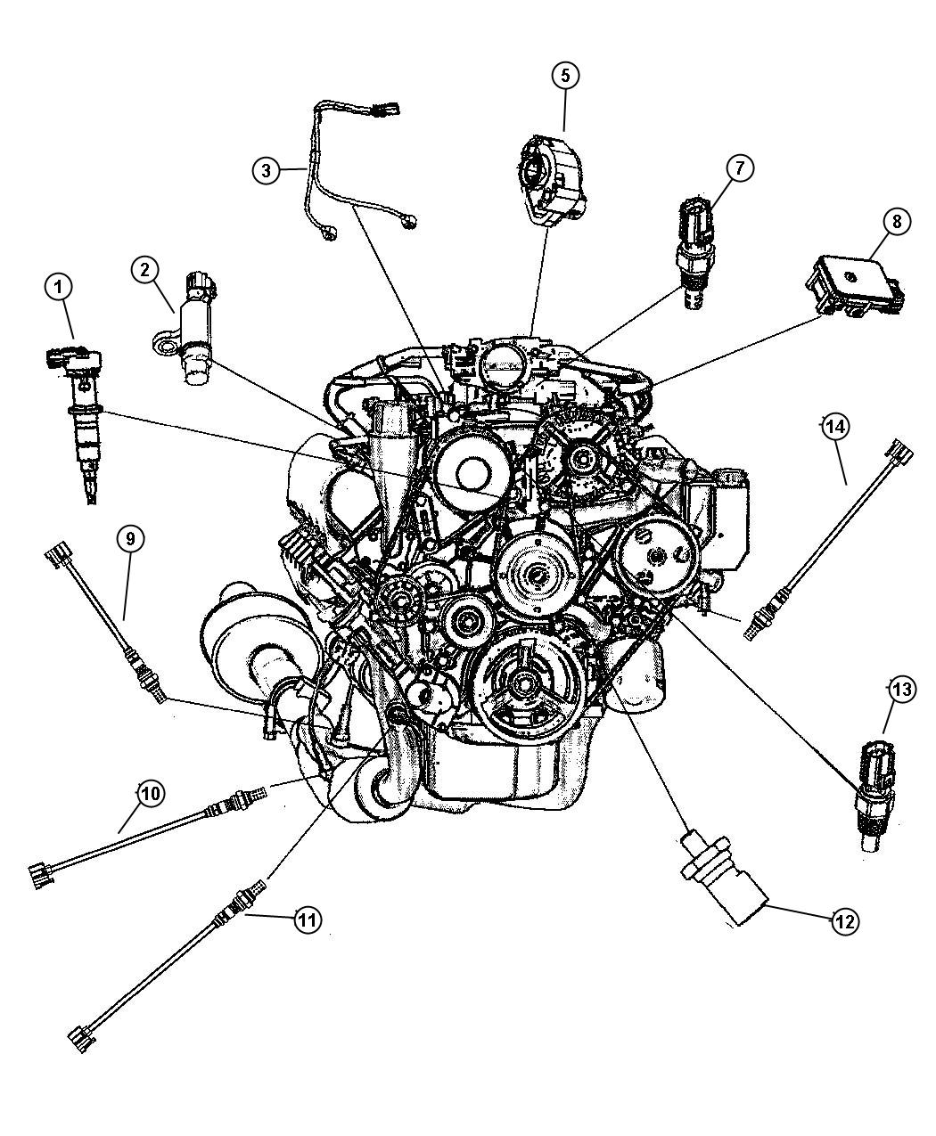 chrysler 2 7l engine wiring diagram