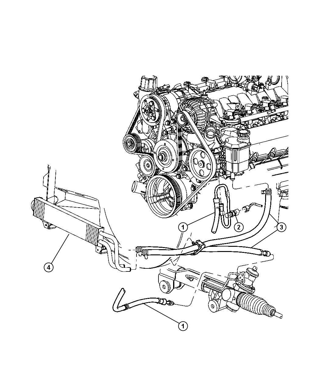 Dodge Ram 1500 Switch  Power Steering  Power Steering