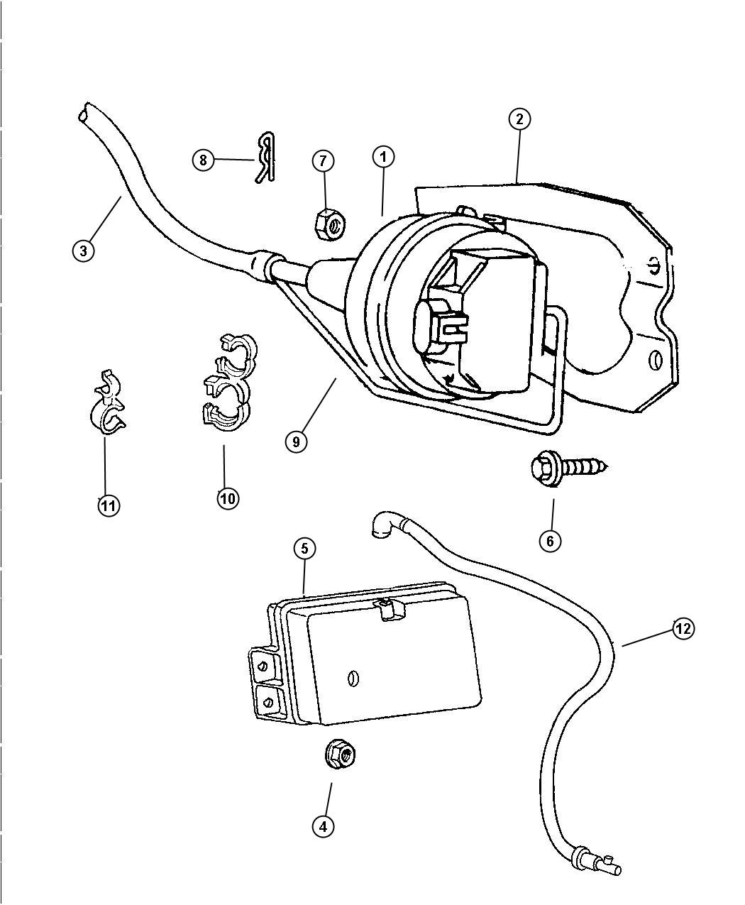 Dodge Cruise Control Diagram : Dodge cruise control servo wiring imageresizertool