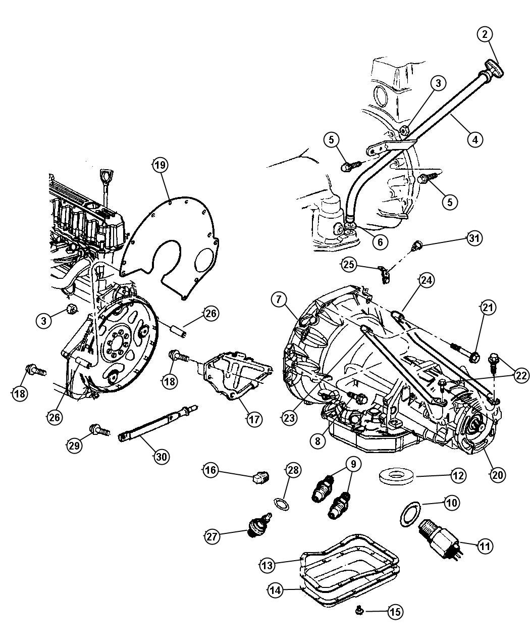1974 Jeep Transmission Diagram