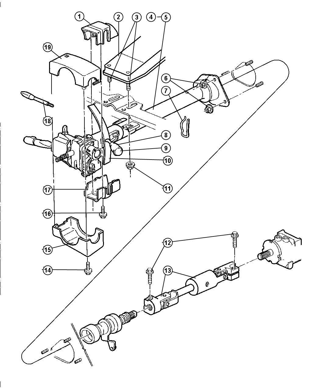 1998 Dodge Ram 2500 Switch  Overdrive Lockout  Trim   All Trim Codes