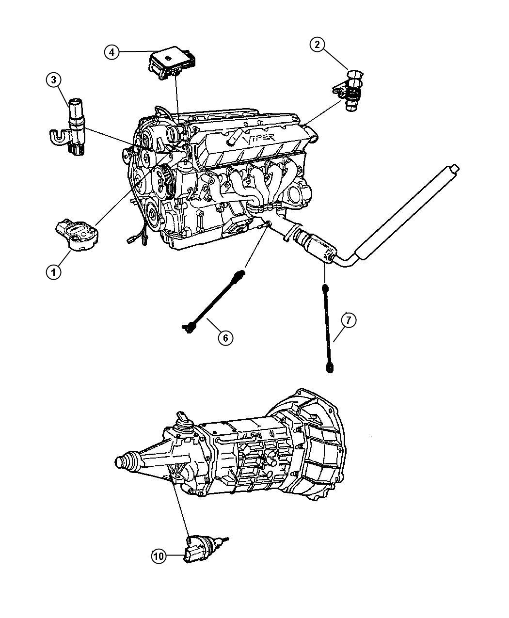 service manual  how to replace 1998 dodge viper crank