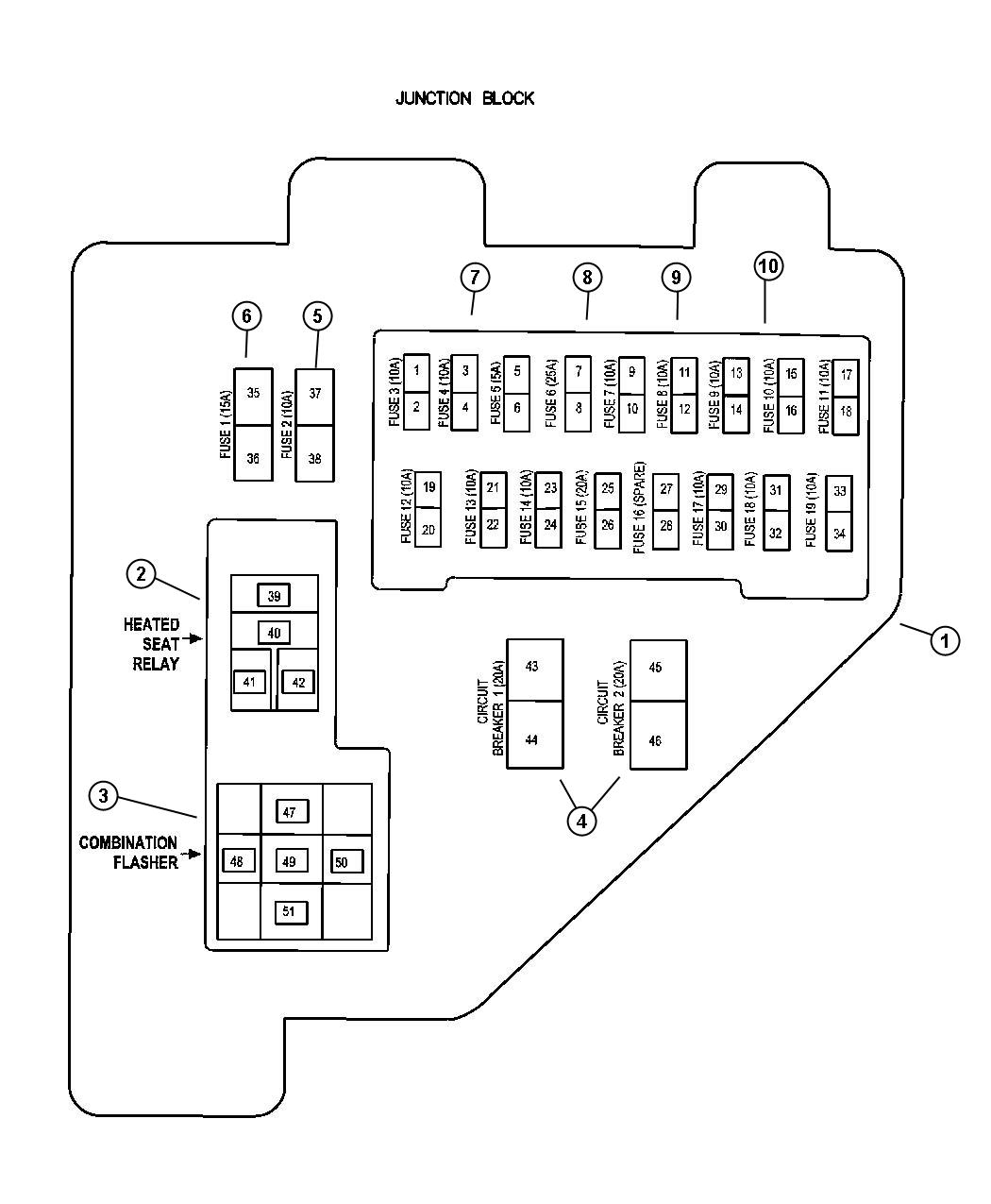 1998 Dodge Ram Fuse Box Diagram Free Download