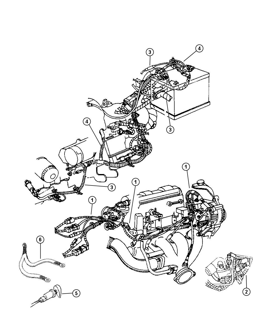 Chrysler 2 7 Engine Diagram Great Design Of Wiring 2001 Dodge Intrepid Oil Sending Unit 2002 Voyager Concorde