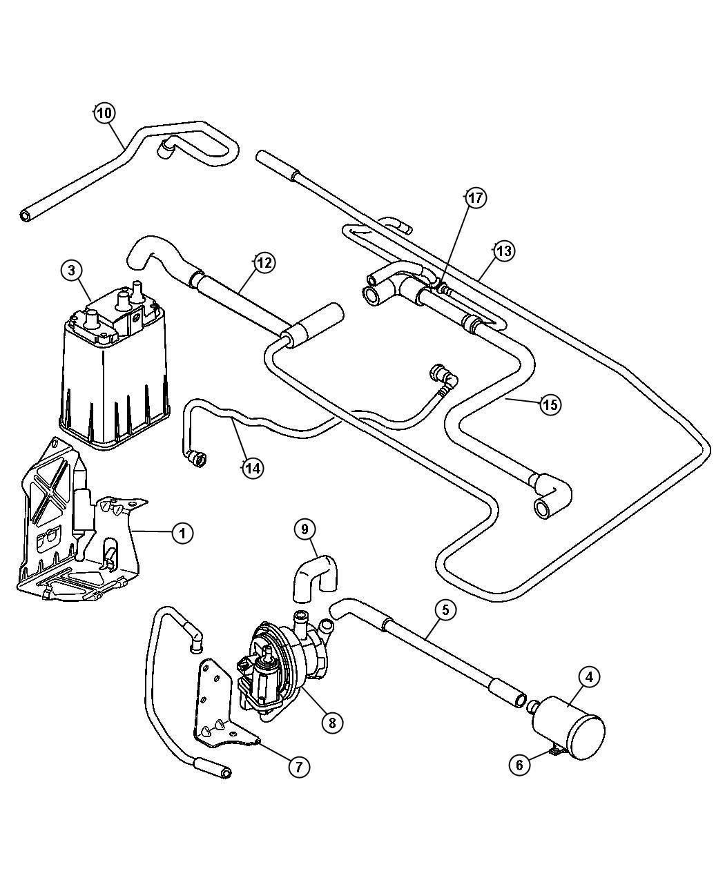 chrysler pt cruiser detector  natural vacuum leak detection  capemissions  tankelectronic