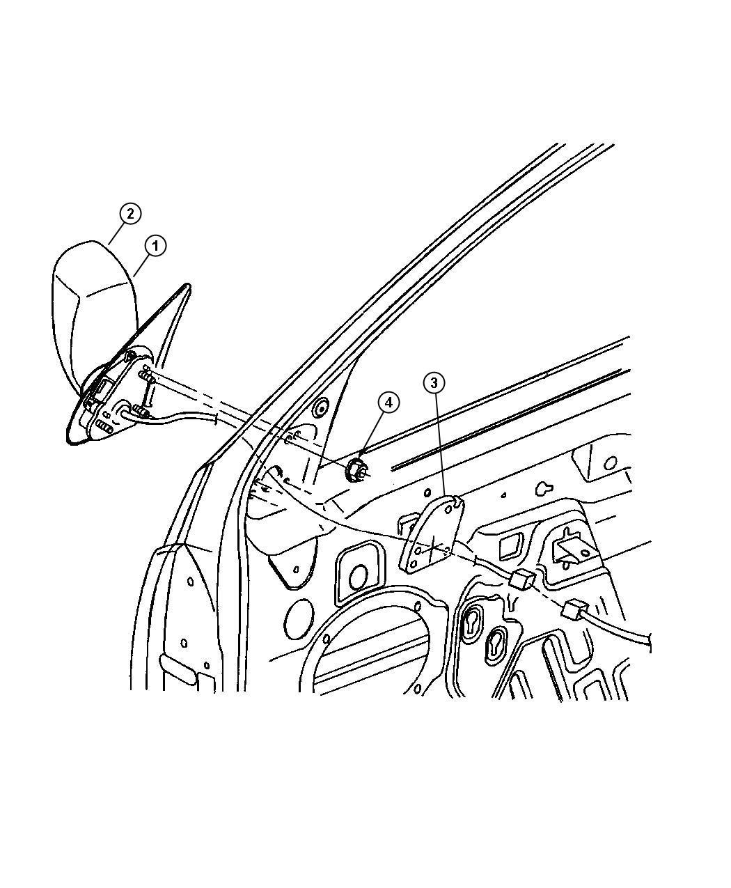 jeep grand cherokee glass  mirror replacement  left  gtn  powergtj  folddiesel