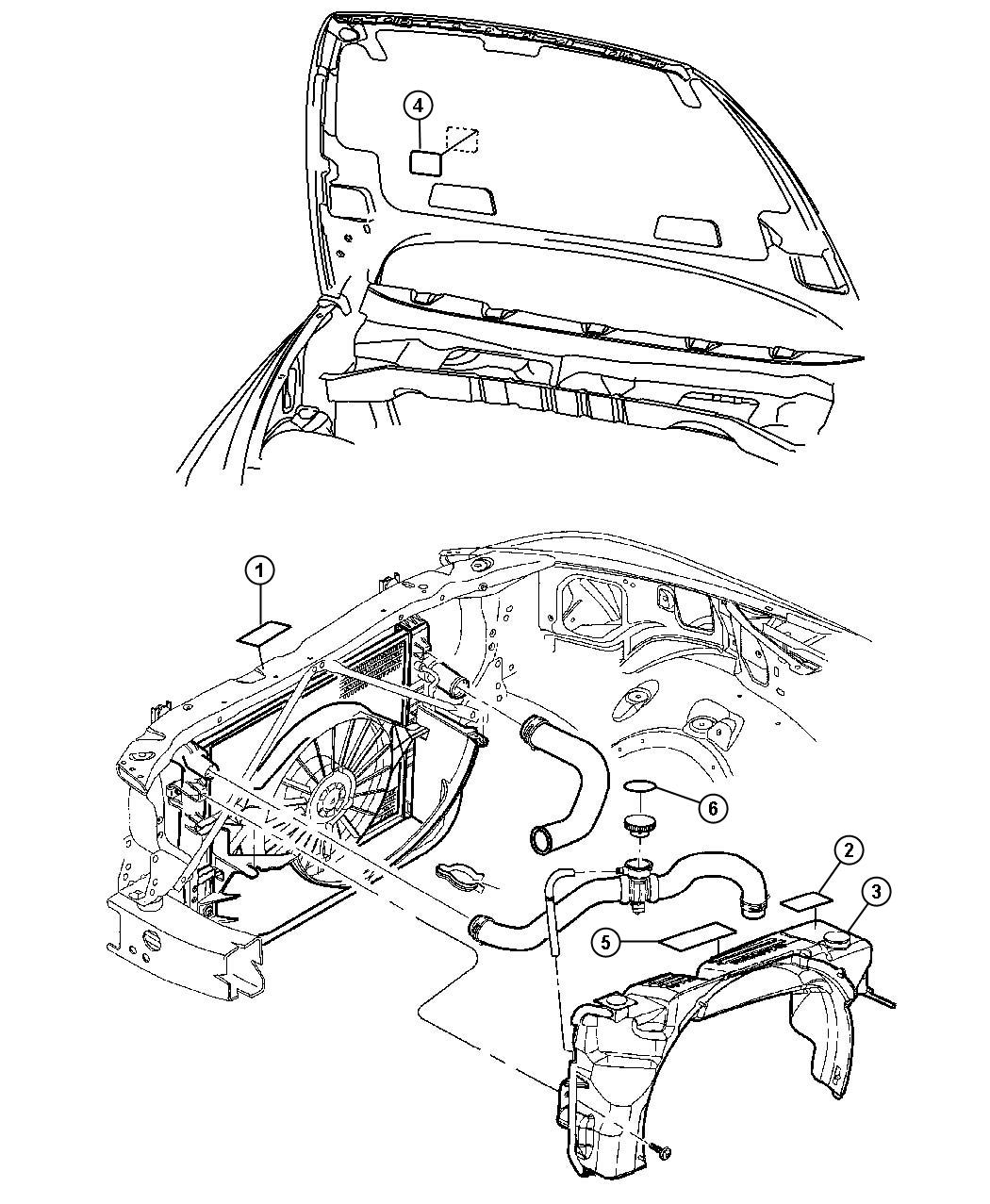 52110428ac - Dodge Label  Emission    Engine