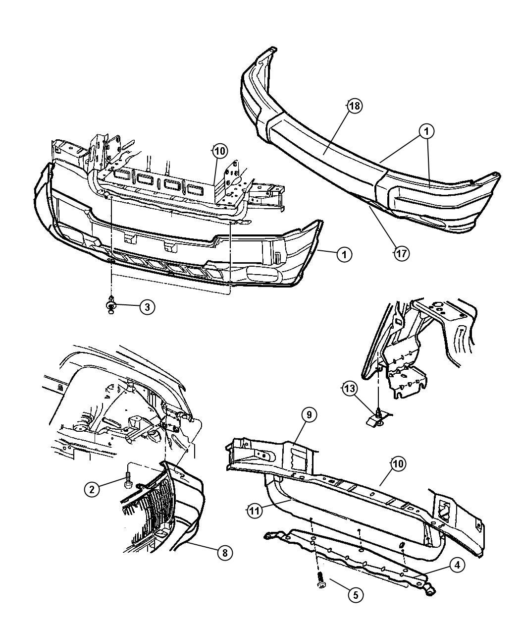 jeep cherokee bumper parts diagram  jeep  auto wiring diagram