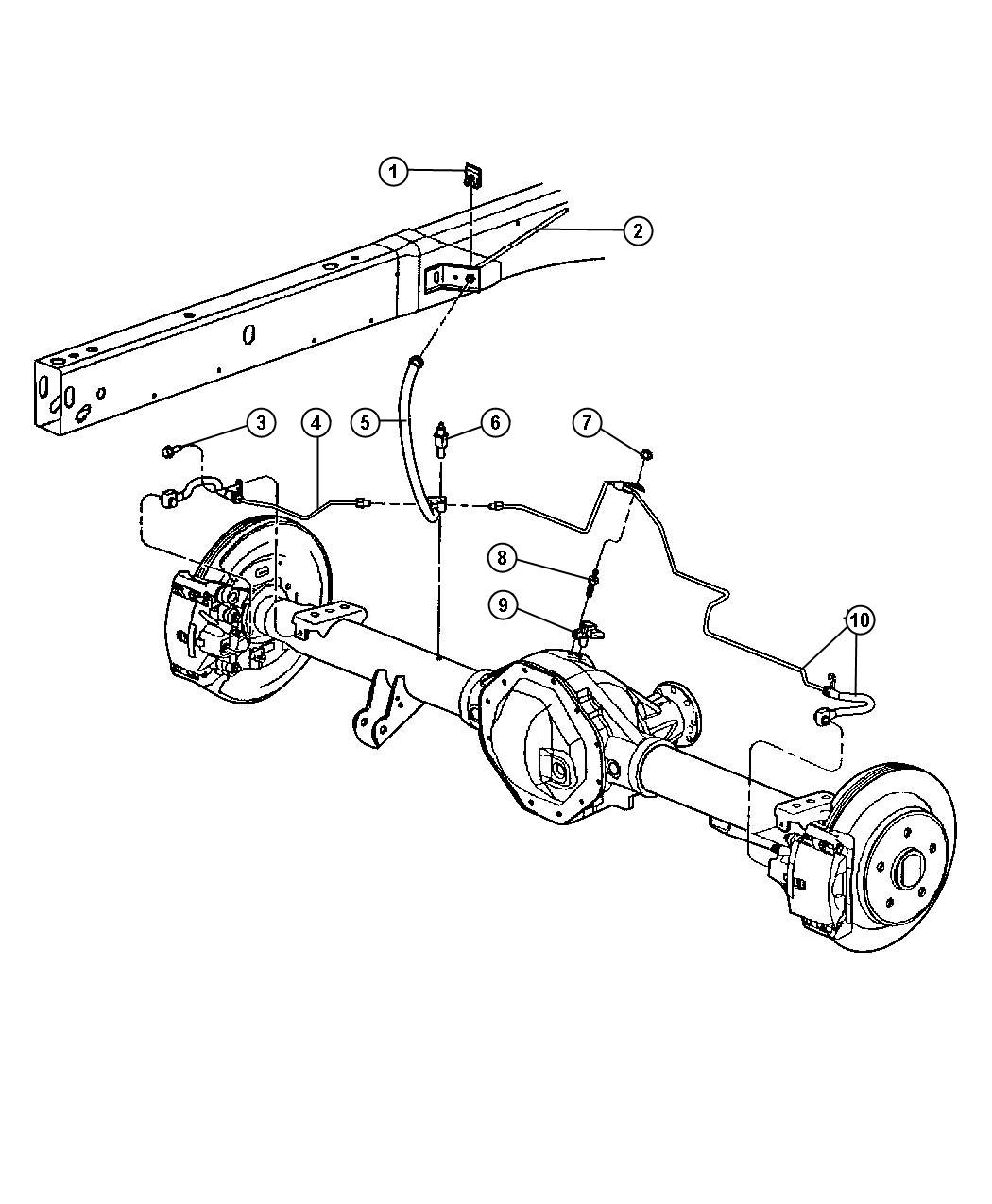 2003 dodge ram wheel diagram