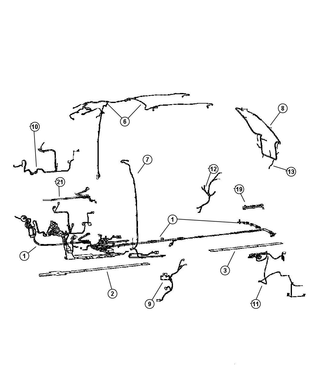 dodge ram 1500 harness  wiring  heated seat  seat wiring   cma    jpr  cma   hl trim code