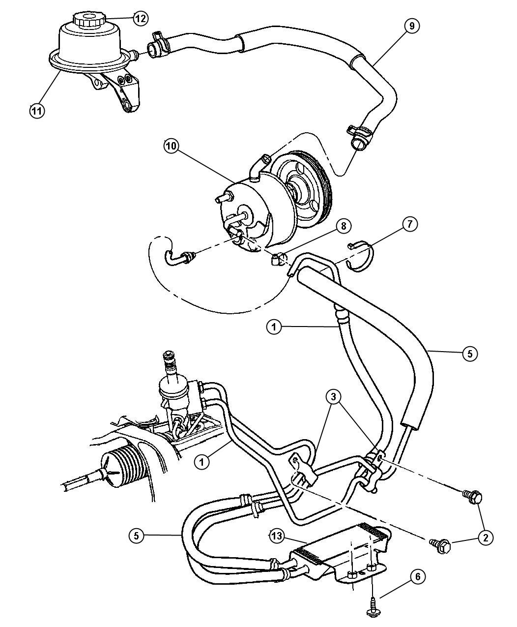 2001 dodge dakota steering parts diagram  2001  free