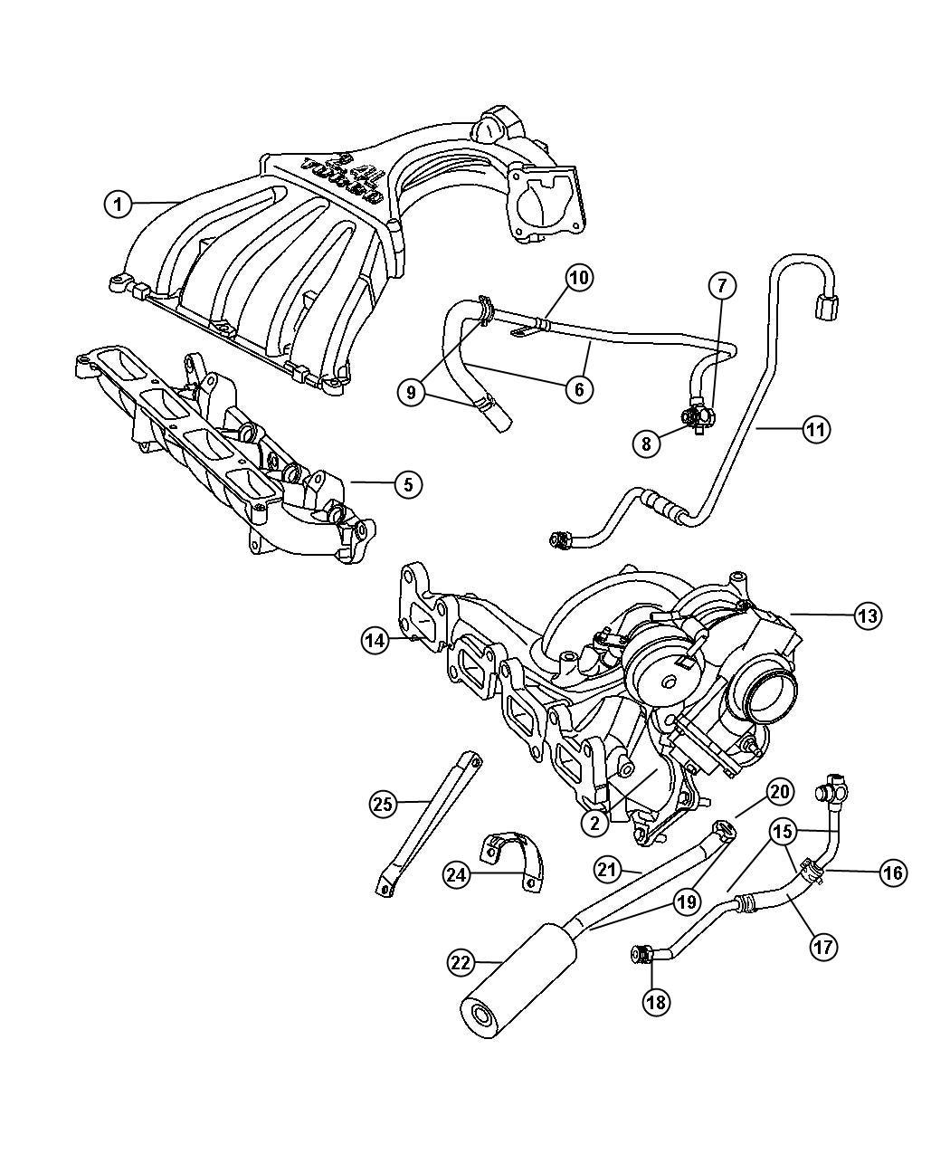 2006 pt cruiser 2 4l engine diagram 04852389aa mopar bolt  screw banjo  banjo connector  04852389aa mopar bolt  screw banjo  banjo connector