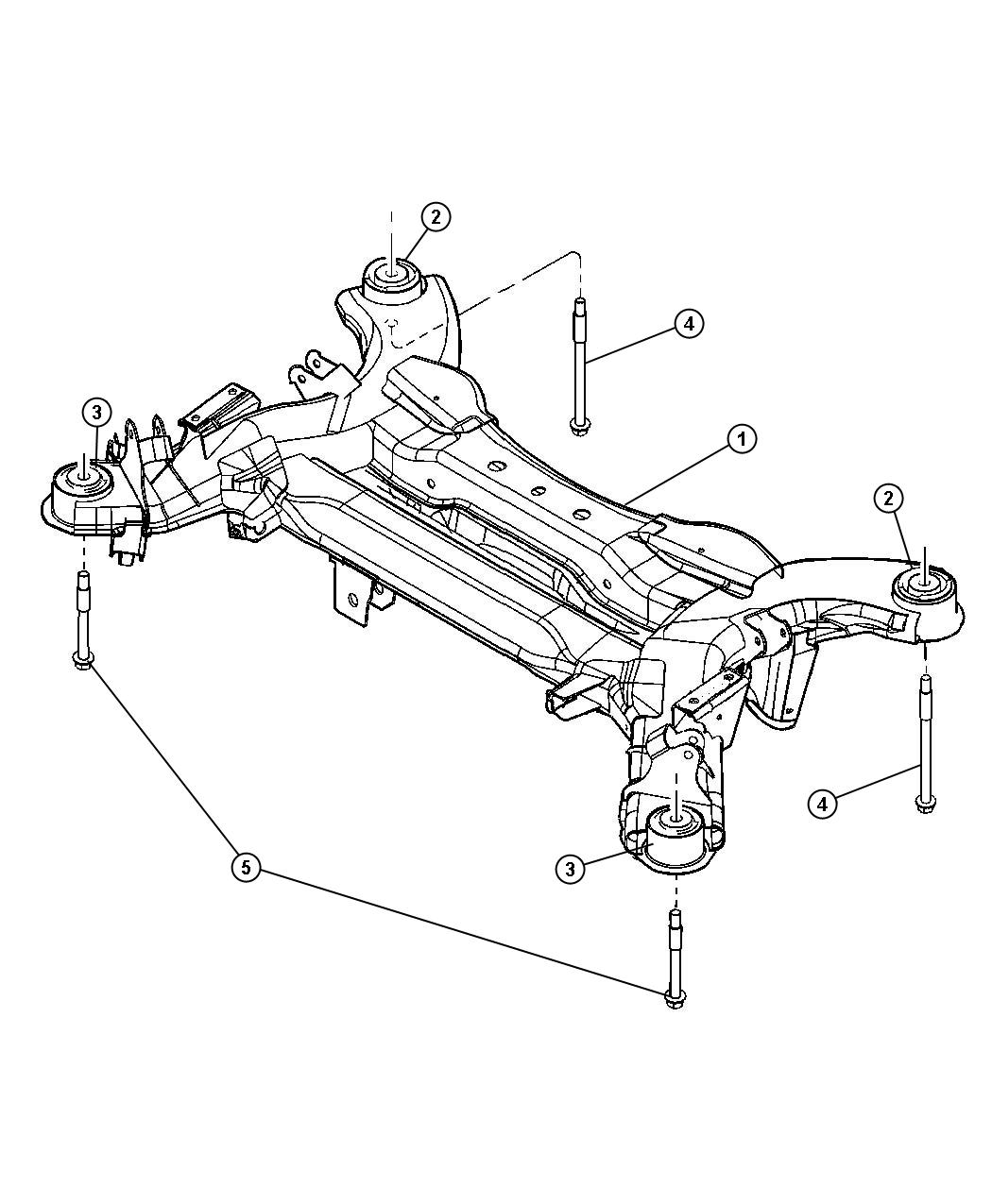 chrysler pacifica front suspension