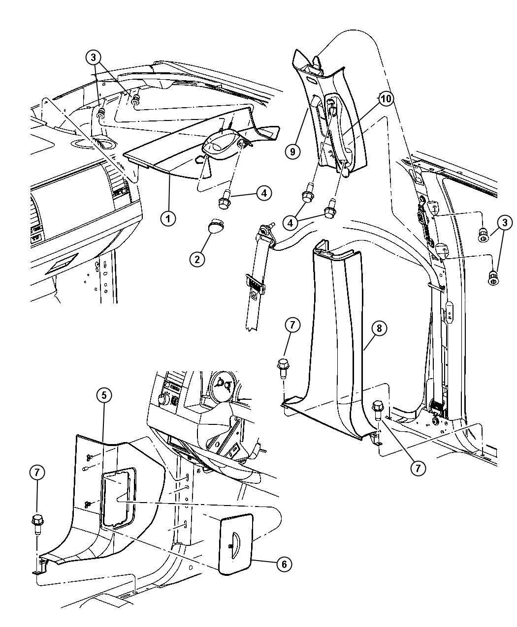 chrysler aspen oem parts diagram  chrysler  auto wiring