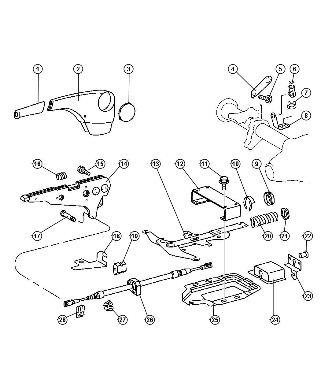 Removing The Parking Brake Handle Sprinter Forum Diagram To Replace And Cover Of But Cant Determine How Actually Remove Exiting Part 1 In Attached Schematic