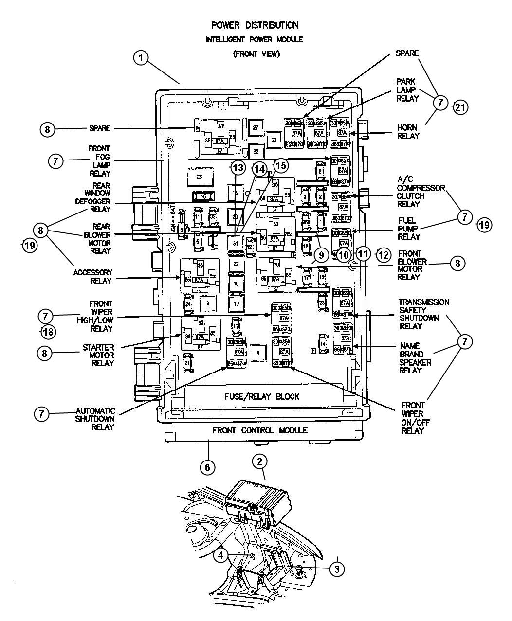 2006 Dodge Ram 2500 Fuse Box Diagram 2005 Magnum Wiring Auto Electrical Caravan Get Free Image About