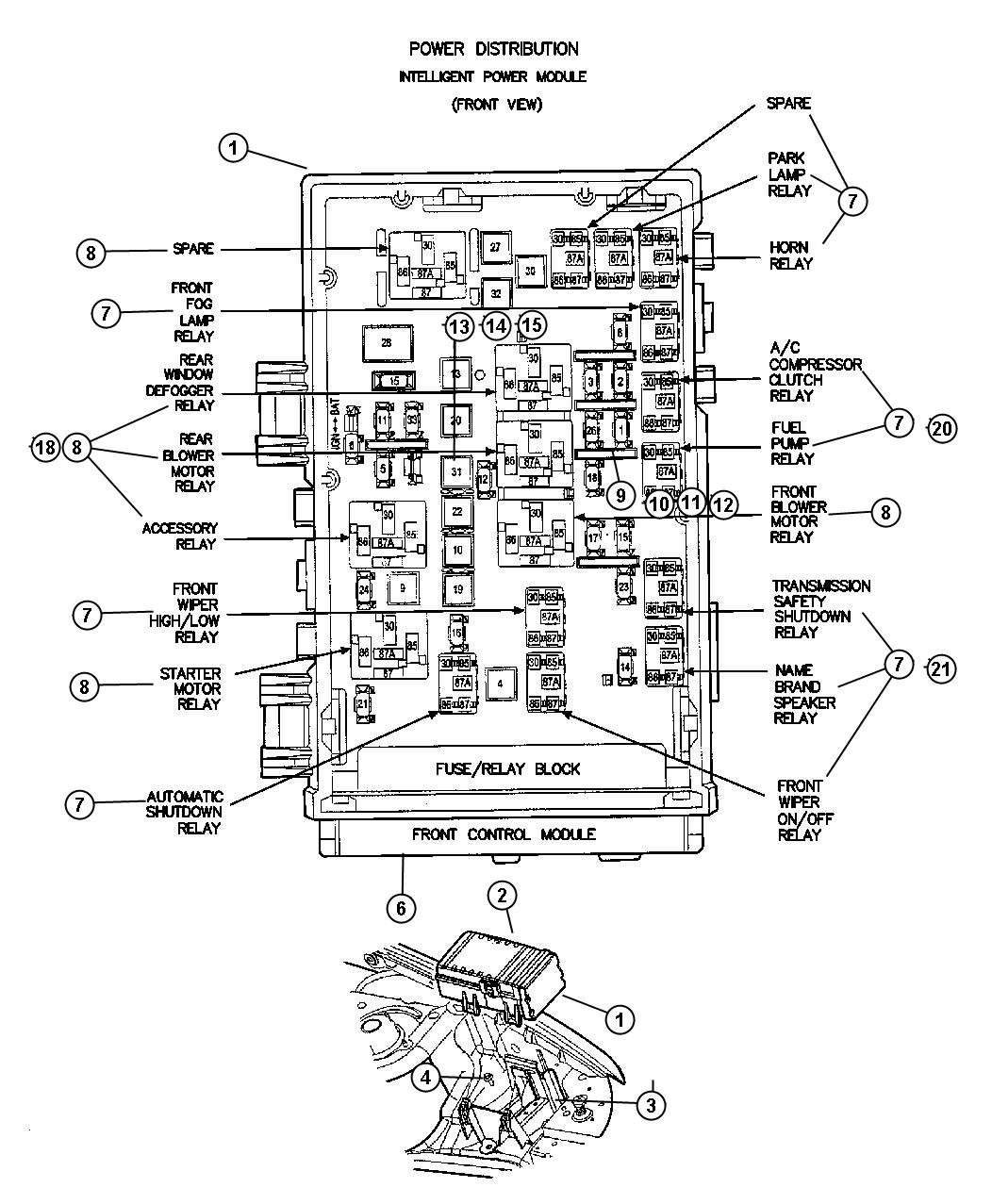 29 2007 dodge nitro fuse box diagram