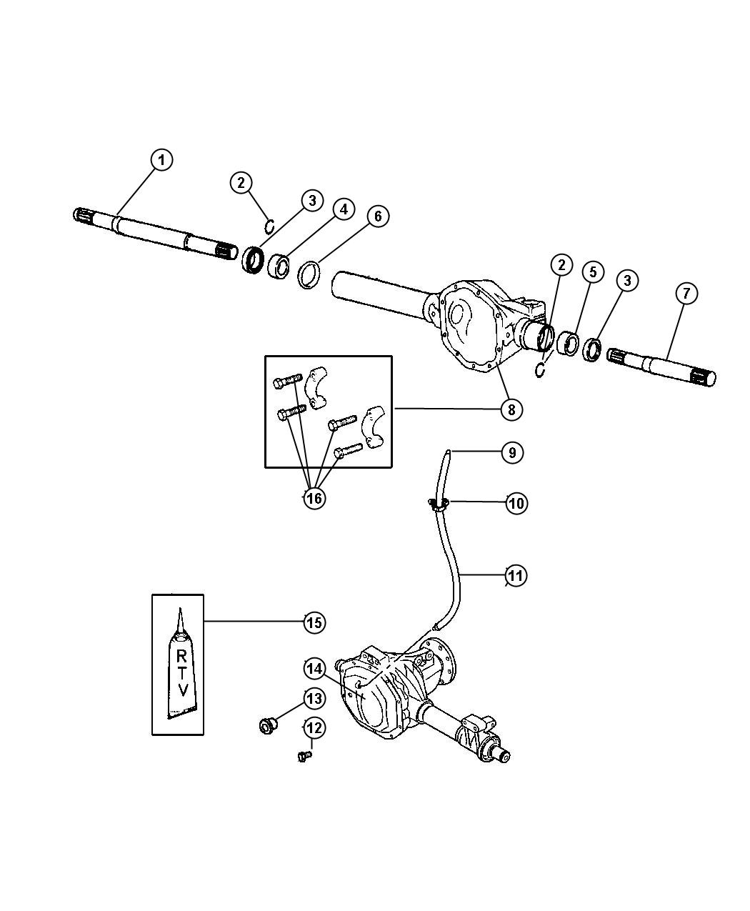 2001 Dodge Dakota Front Suspension Diagram