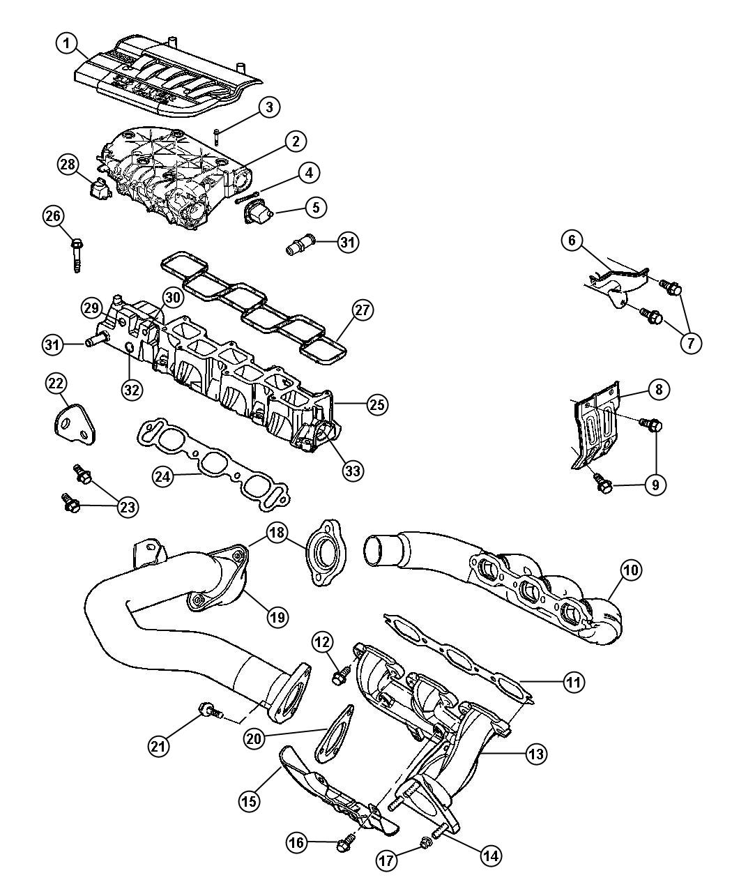 Intake Exhaust Manifold Diagram Intake Free Engine Image