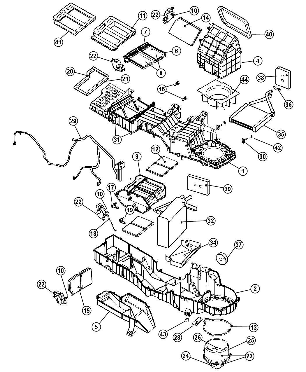 2000 Dodge Ram Heater Diagram on 2001 Dodge Intrepid Parts Diagram