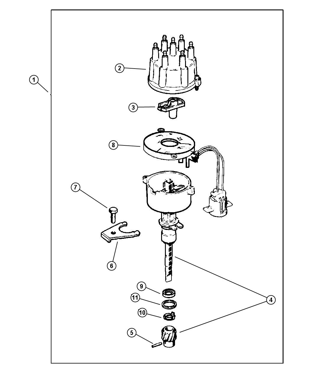 jeep engine diagram distributor cap  jeep  free engine
