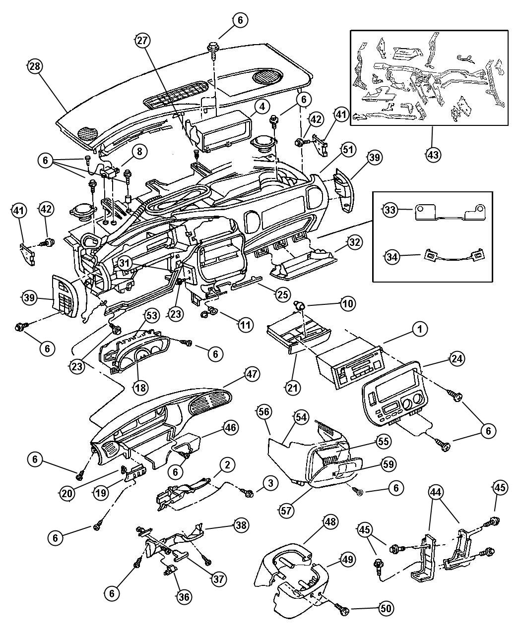 Mopar Wiring Diagrams Instrument Panel Library 2008 Jaguar Cooling Diagram Chrysler Voyager 1997 Circuit Schematic Throttle Body