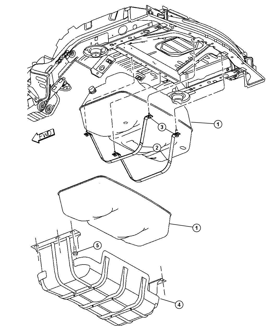 52128911al - Jeep Tank  Fuel