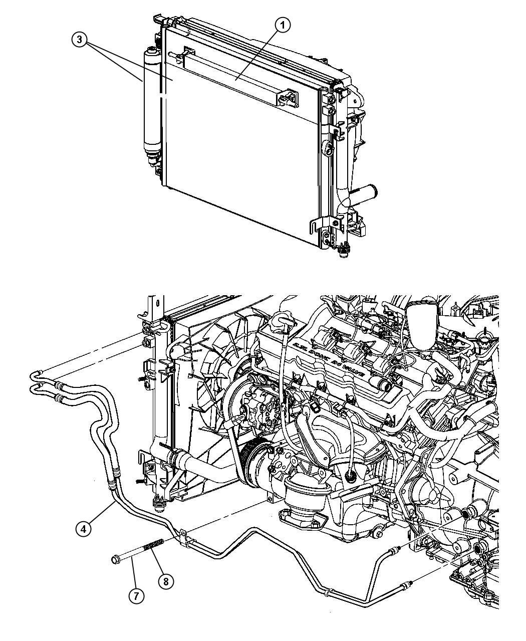 dodge magnum 5 7 engine diagram