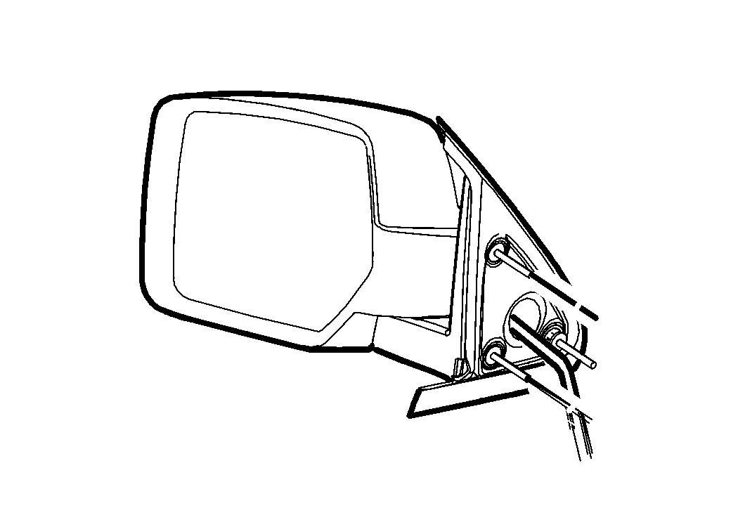 Diagram Exterior Mirror for your Dodge Dart